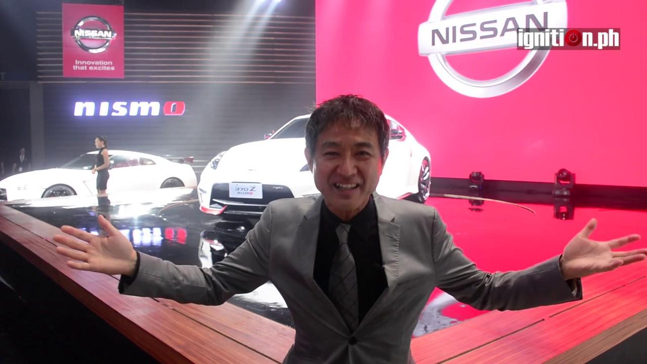 Hiroshi Tamura introduces the 370Z NISMO