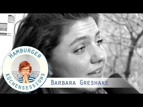 """Barbara Greshake """"Auch Scherben Spiegeln Das Licht"""" live @ Hamburger Küchensessions"""