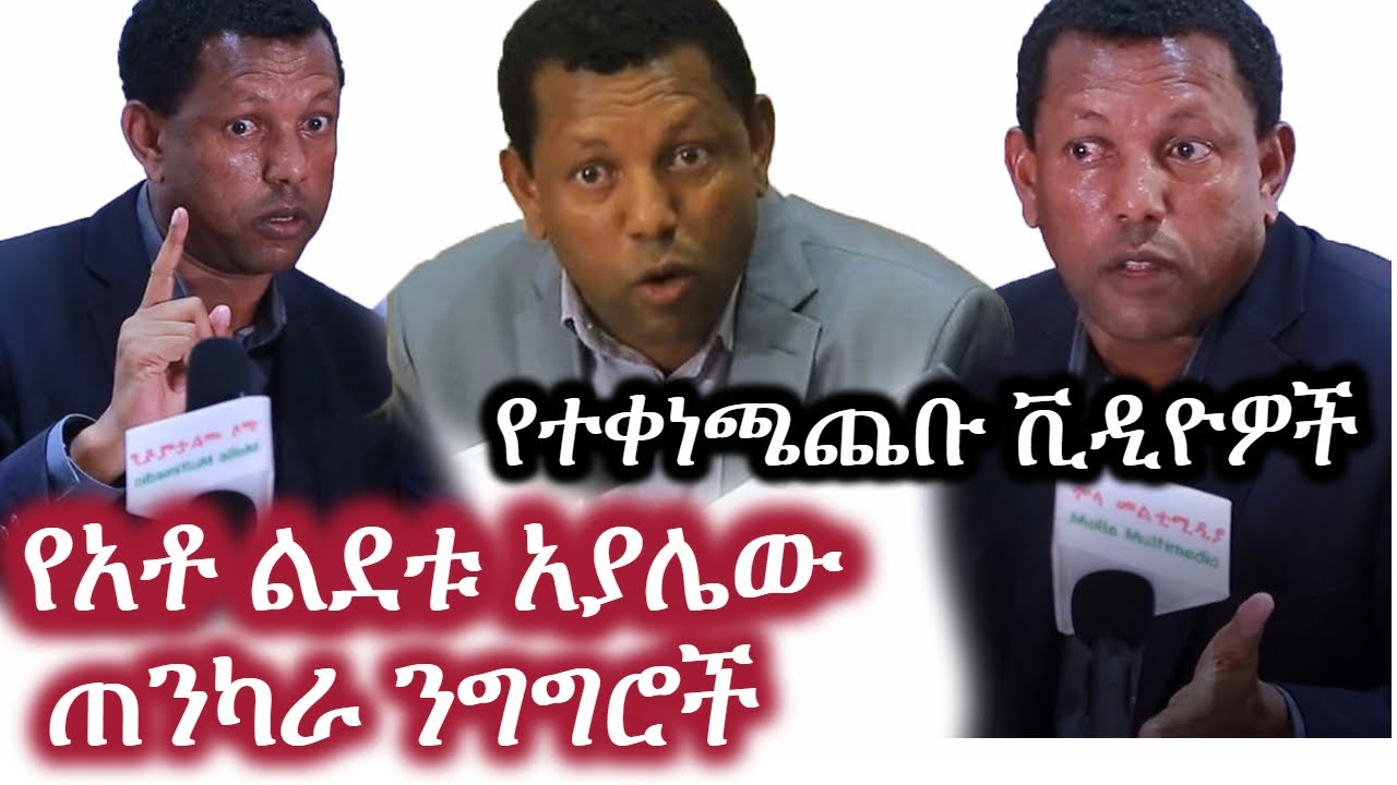 Some of LIdetu Ayalew's speeches