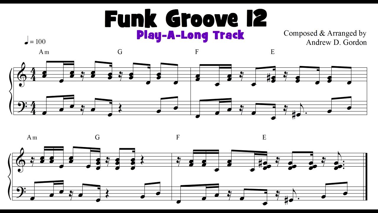 Groove 12 funk soul and rb keyboard groove of the day with play groove 12 funk soul and rb keyboard groove of the day with play a long track hexwebz Image collections