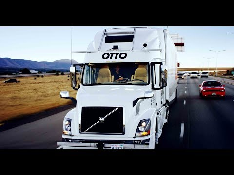 Uber Freight  Automous Trucks hired to run  uber customer freight .