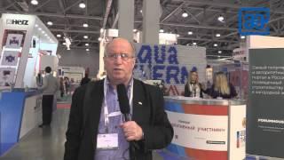 Интервью Д.Г. Грака (журнал ТПА) на выставке AQUA-THERM 2016 (Москва)