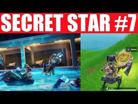 Week 7 Secret Battle Star Season 10 - SUMMER SLURP Challenges Battle Star Season X