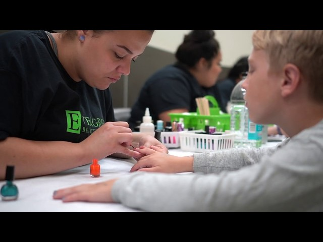 Giving Back: Annual Bringing Beauty Back to School Event | Evergreen Beauty College