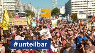 #unteilbar-Großdemo in Berlin