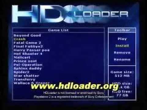 HDLOADER PS2 ISO TÉLÉCHARGER