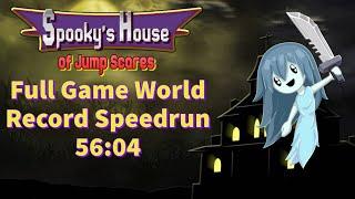 [Former World Record] Spooky's Jumpscare Mansion 1-1000 Speedrun 56:04