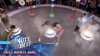 Hipan Hooray | Minute To Win It - Last Tandem Standing