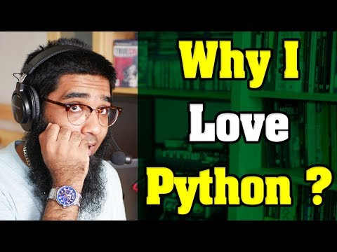 Question🤔: Why I Love Python Programming Language So Much ?