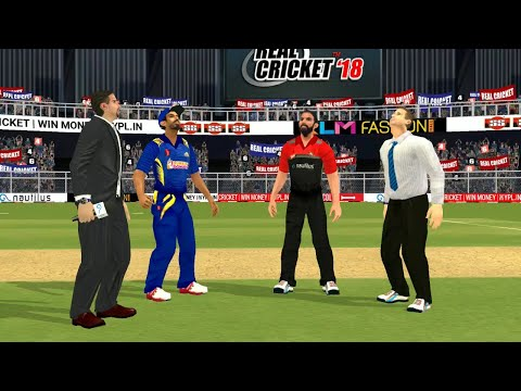 17th April IPL 11 Royal Challengers Bangalore Vs Mumbai Indians Real cricket 2018 mobile Gameplay
