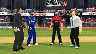 17th April IPL 11 Royal Challengers Bangalore Vs Mumbai Indians Real cricket 2018 mobile Gameplay