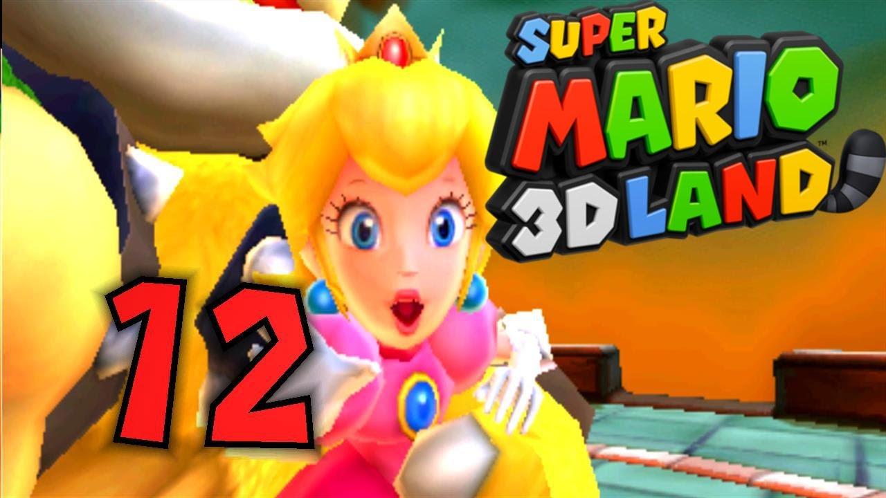 super mario 3d land part 12 hi bowser tsch252ss peach