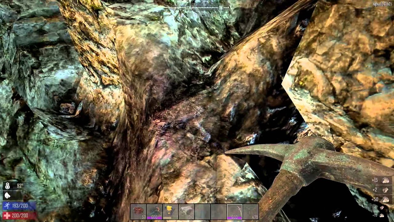 How To Find Oil Shale 7 Days To Die Youtube