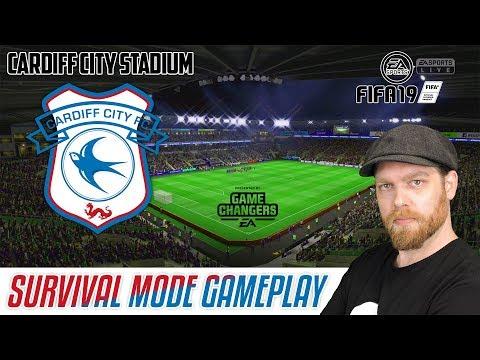 NEW FIFA 19 GAMEPLAY - SURVIVAL MODE AT CARDIFF CITY STADIUM thumbnail
