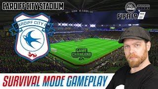 NEW FIFA 19 GAMEPLAY - SURVIVAL MODE AT CARDIFF CITY STADIUM