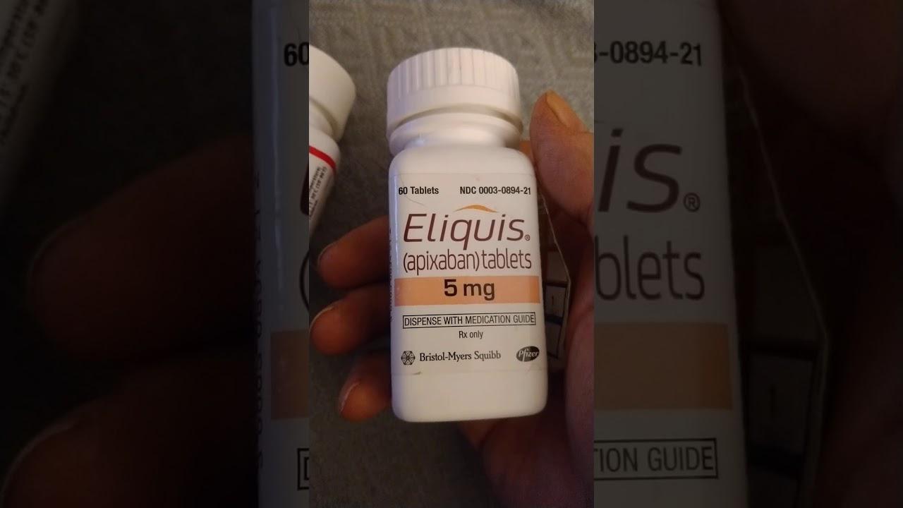Eliquis overdose side effects side effects