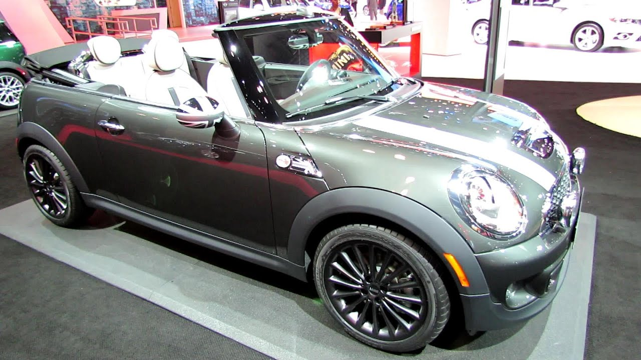 2014 mini cooper s convertible exterior and interior walkaround 2014 new york auto show youtube
