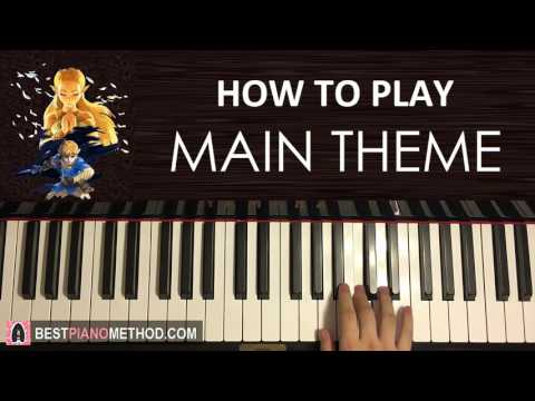 HOW TO PLAY - Zelda: Breath of the Wild - Main Theme (Piano Tutorial Lesson)