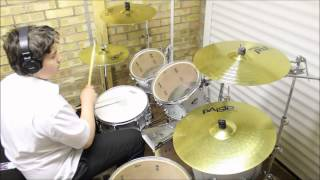 Skid Row - Youth Gone Wild - Drum Cover - 1080p30