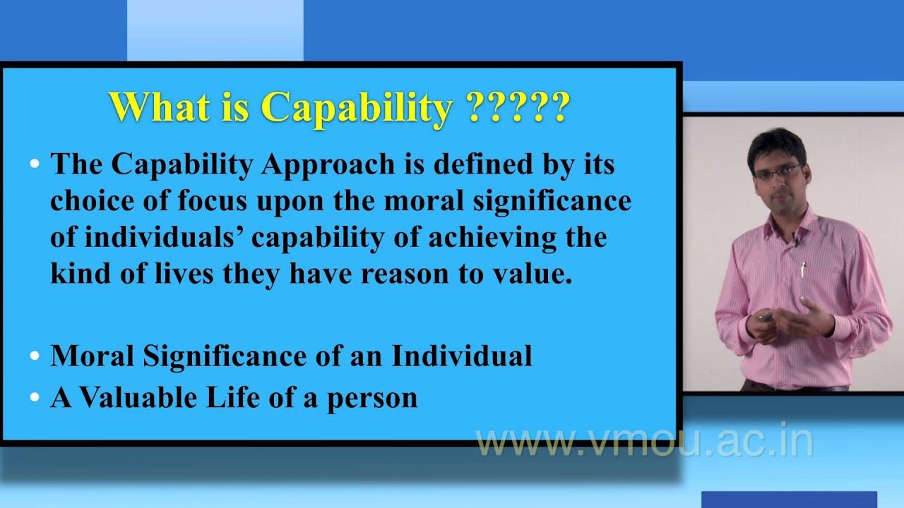 sens capability approach The capability approach is a theoretical framework that entails two core normative claims: first, the claim that the freedom to achieve well-being is of primary moral importance, and second, that freedom to achieve well-being is to be understood in terms of people's capabilities, that is, their real opportunities to do and be what they have reason to value.