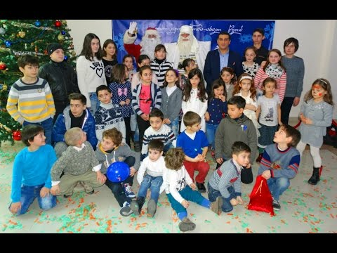 Christmas celebration 2015, children of Georgian soldiers lost Àugust 2008 war