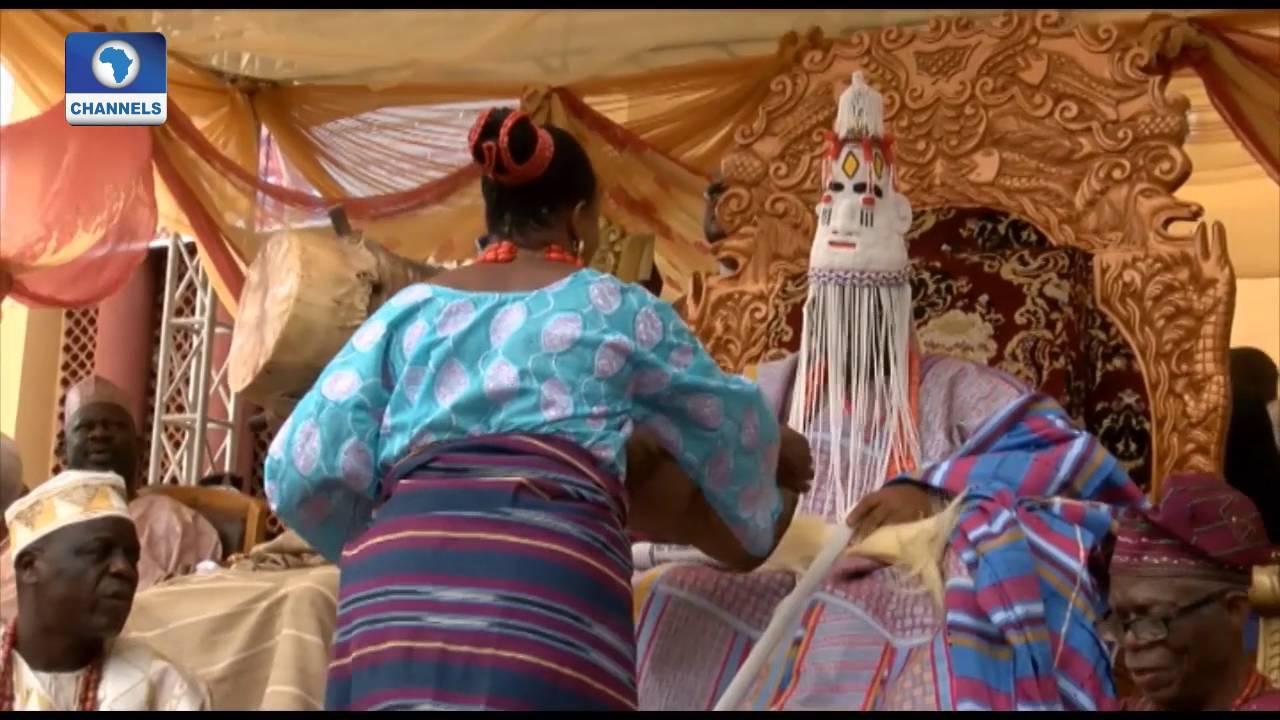 Download Metrofile: Fanfare As The Colourful Idi-Iroko Festival Holds In Ekiti State