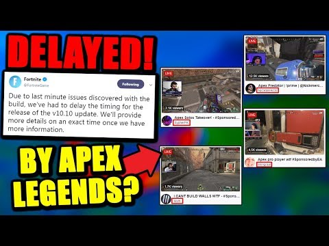 Fortnite Patch CANCELED Because APEX LEGENDS..? Is Epic PANICKING?