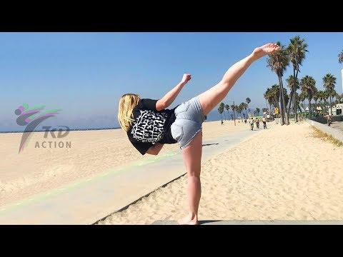Amazing Taekwondo Girls Kicks And Best Skills
