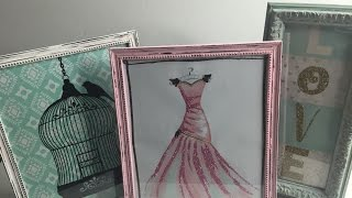 DIY Distressed Picture Frames Video