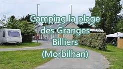 Camping la plage des Granges Billiers Morbilhan