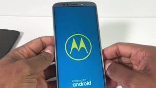 Mi Moto E4, e5, g5, g6 Motorola  No prende ni carga / Moto tiene símbolo amarillo de admiración
