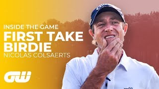 Colsaerts Gets a HARD Question!   The First Take Birdie Challenge   Golfing World