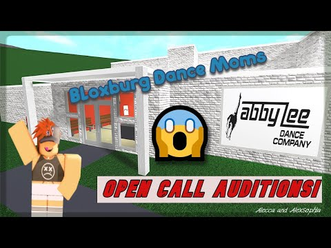 Bloxburg Dance Moms Tour And Casting Call Youtube