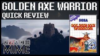 RetroMime - Quick Review - Golden Axe Warrior [MS]