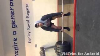 15 year old 150kg deadlift