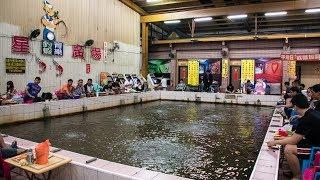 Indoor Shrimp Fishing