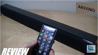REVIEW: AKIXNO Aye - Cheap, Bluetooth Soundbar (24