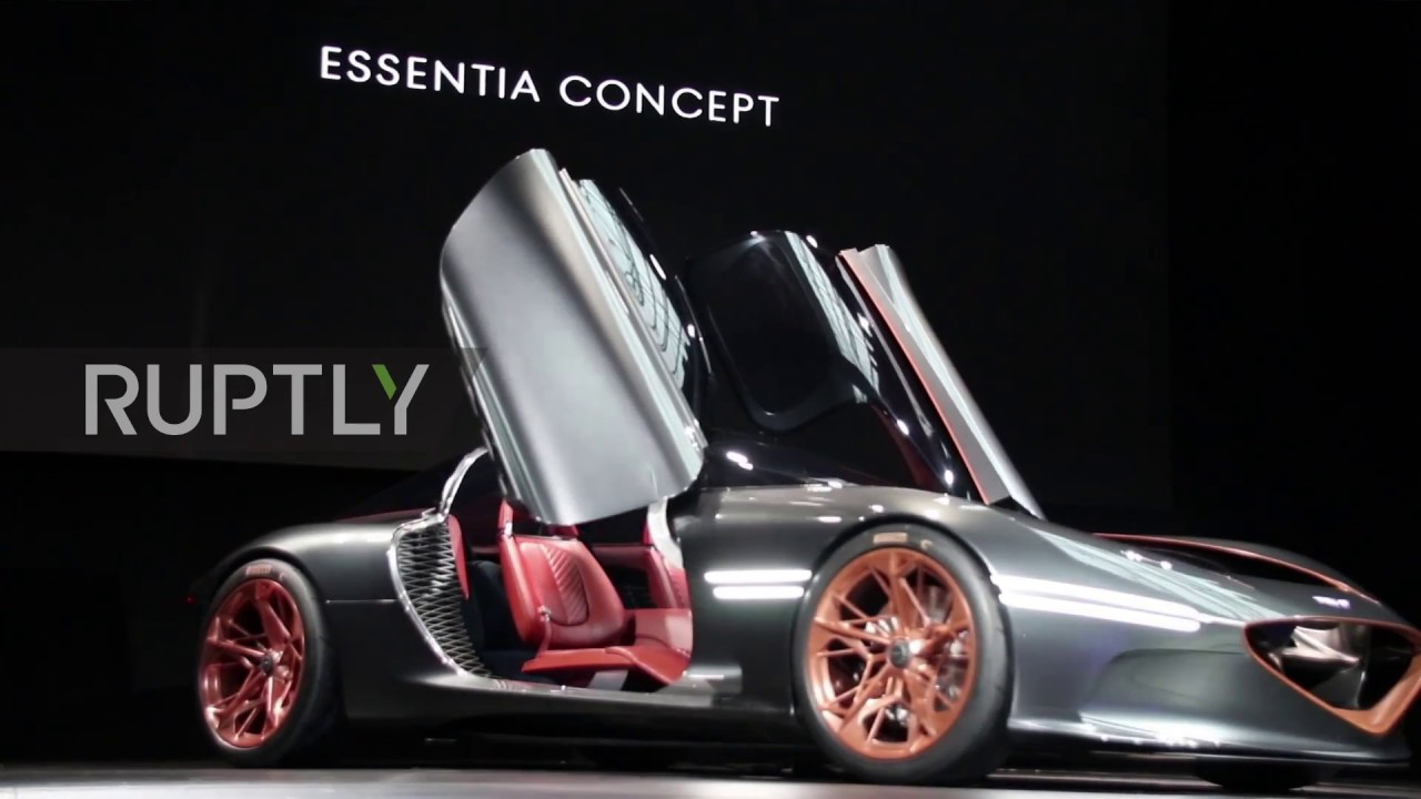 USA: Hyundai Presents New All Electric Sports Concept Car