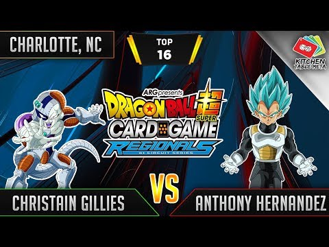 Dragon Ball Super Card Game Gameplay [DBS TCG] Charlotte Regional Top 16