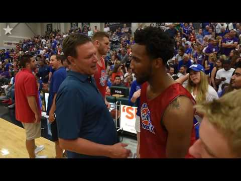 Former KU guard Wayne Selden soars at Rock Chalk Classic