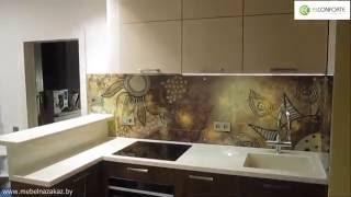 Угловая кухня «Африка» | Минск, пр-т Победителей | Кухни