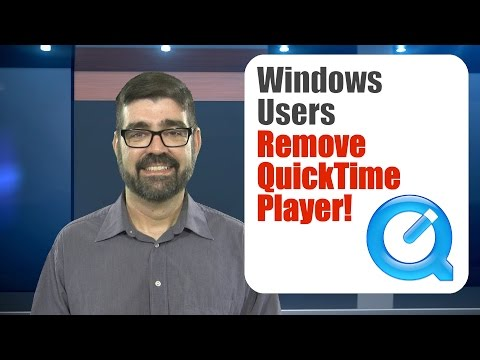 !!SECURITY ALERT!!: Remove QuickTime Player from All Windows Computers!