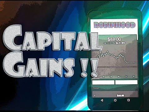 Robinhood APP - CAPITAL GAINS - SHORT-TERM vs LONG-TERM!