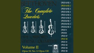 String Quartet No. 2 in G Major, Op. 18, No. 2: IV. Allegro molto quasi presto
