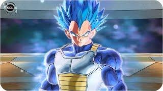 Super Vegeta Beyond SSB VS Jiren - Dragon Ball Super Xenoverse 2 Mod Pack