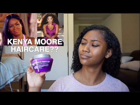 Kenya Moore Haircare First Impression Review Youtube