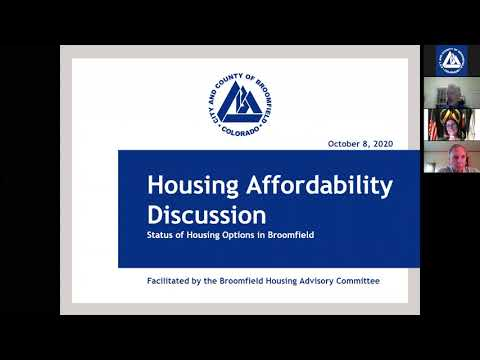 Housing Affordability Discussion