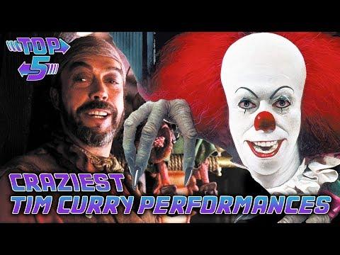 Top 5 Craziest Tim Curry Performances Mp3