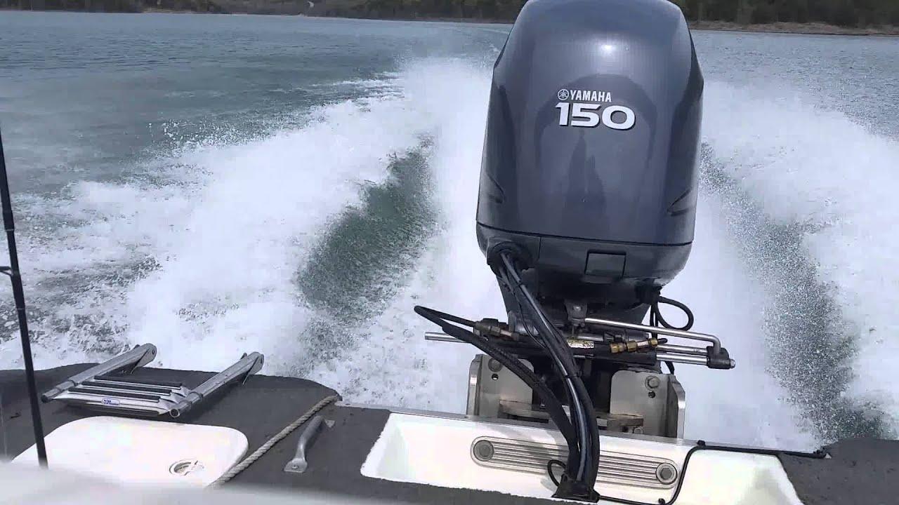 New yamaha 150 4 stroke youtube for Yamaha 150 2 stroke