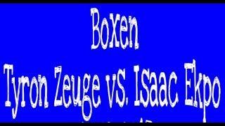 Boxabend mit Tyron Zeuge, Isaac Ekpo, Michael Smolik, Pietro Lombardi 25.03.2017 Potsdam